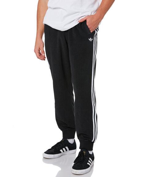 BLACK WHITE MENS CLOTHING ADIDAS PANTS - GD3506BLKWT