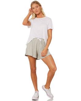 GREY MARLE WOMENS CLOTHING RPM SHORTS - 8SWB02BGRY