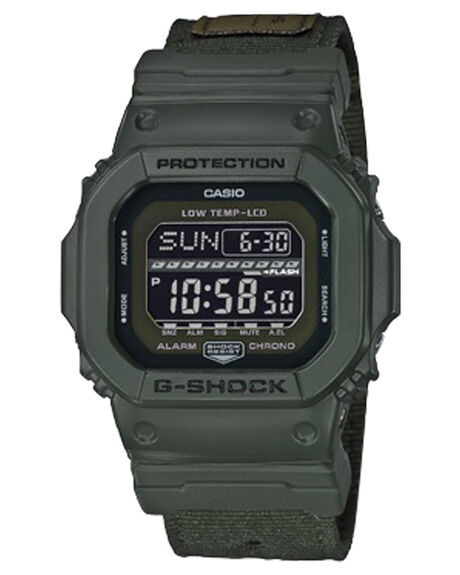 OLIVE MENS ACCESSORIES G SHOCK WATCHES - GLS5600CL-3DOLV