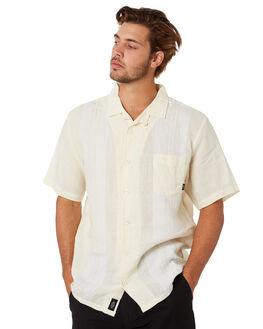 THRIFT WHITE MENS CLOTHING THRILLS SHIRTS - TA20-229ATHWHT