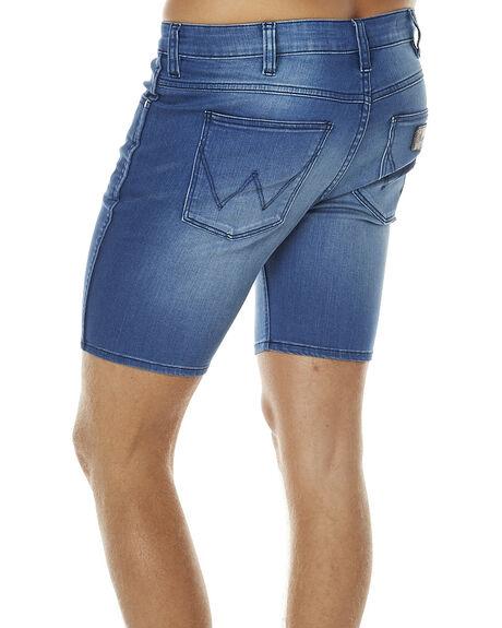 TWIST BLUE MENS CLOTHING WRANGLER SHORTS - W-099957-570TBLU
