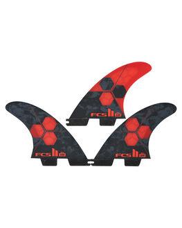 RED BOARDSPORTS SURF FCS FINS - FAMS-PC04-SM-TS-RRD