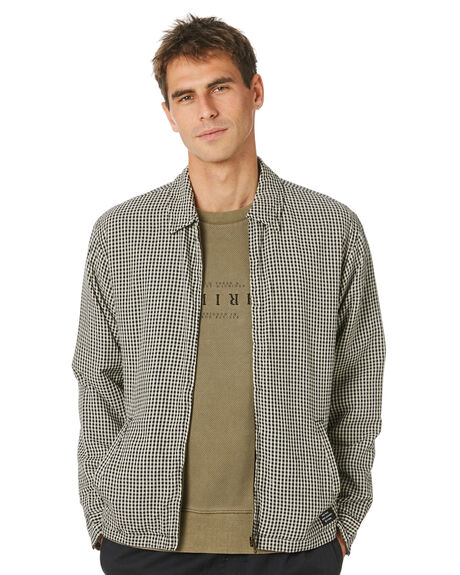 BLACK OUTLET MENS THRILLS JACKETS - TH20-205BBLK