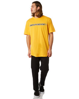 GOLDEN MENS CLOTHING INDEPENDENT TEES - IN-MTA8210GLDN
