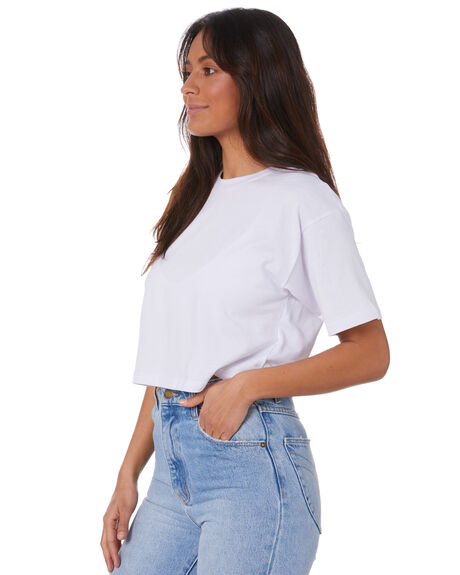 WHITE WOMENS CLOTHING SILENT THEORY TEES - 6044045WHT