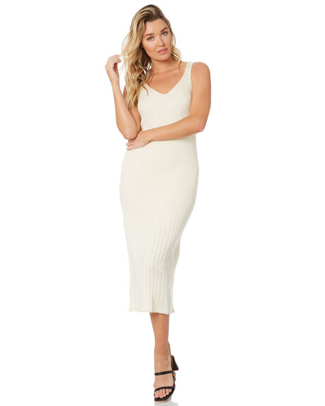 OFF WHITE WOMENS CLOTHING RUE STIIC DRESSES - AS-20-K-11-OW-MOWHT