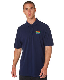 NAVY MENS CLOTHING PASS PORT SHIRTS - PPRAINBOWNVY