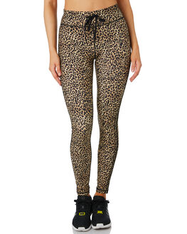 LEOPARD WOMENS CLOTHING THE UPSIDE ACTIVEWEAR - USW319098LPD