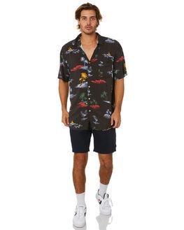 BLACK ISLANDS MENS CLOTHING BARNEY COOLS SHIRTS - 315-Q120BLKIS