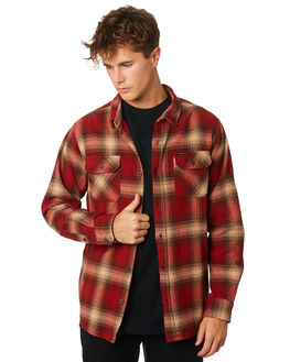 RED MENS CLOTHING RIP CURL SHIRTS - CSHLQ10040