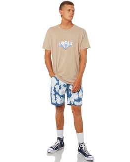 BLEACHED BLUE MENS CLOTHING BARNEY COOLS SHORTS - 601-CR1BLEBL