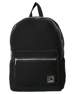 BLACK WHITE MENS ACCESSORIES CARHARTT BAGS + BACKPACKS - I027587BLKWH