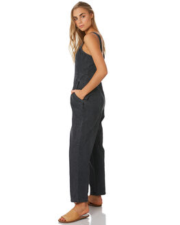 WASHED BLACK WOMENS CLOTHING THE HIDDEN WAY PLAYSUITS + OVERALLS - H8194194WSHBK