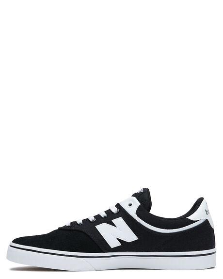 BLACK WHITE MENS FOOTWEAR NEW BALANCE SNEAKERS - NM255BWBBLKW