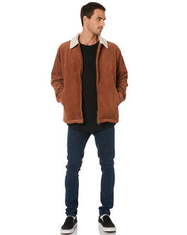 TORTOISE SHELL MENS CLOTHING RUSTY JACKETS - JKM0386TOR