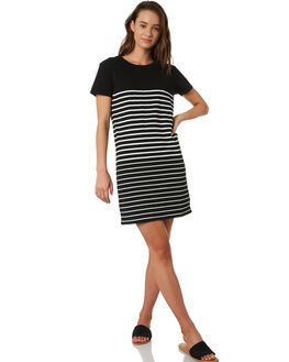 BLACK WOMENS CLOTHING SWELL DRESSES - S8201447BLK