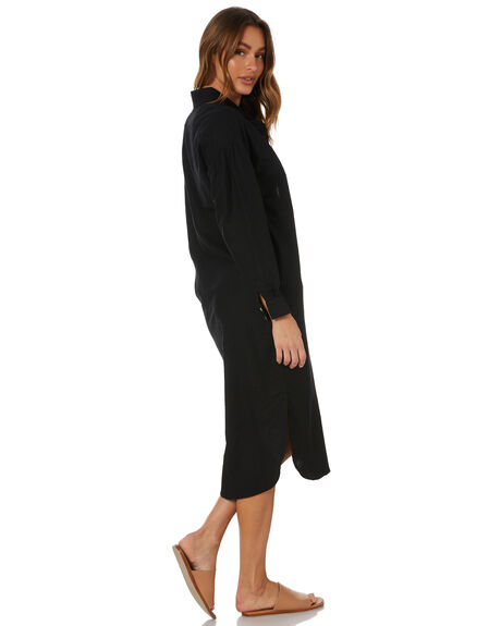 BLACK WOMENS CLOTHING SNDYS DRESSES - SED342_BLK