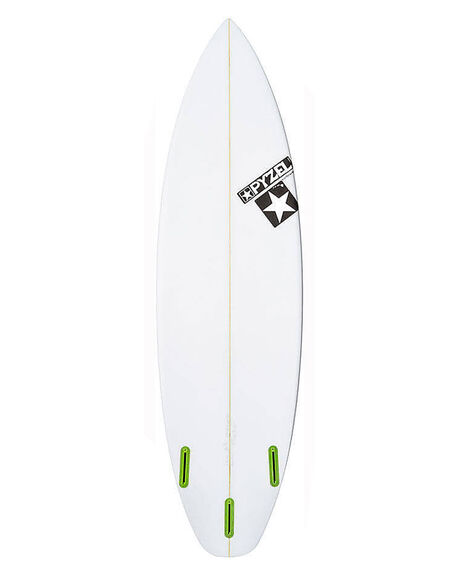 CLEAR BOARDSPORTS SURF PYZEL SURFBOARDS - PYTHESLABCLR