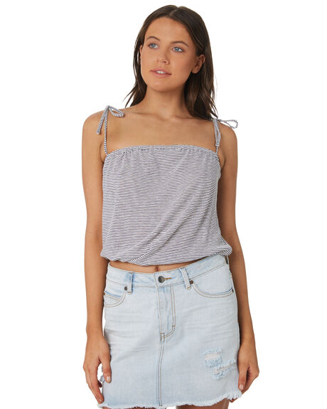 INK BLUE OUTLET WOMENS RUSTY FASHION TOPS - FSL0541-IBE