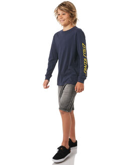 NAVY KIDS BOYS SANTA CRUZ TEES - SC-YLC8101NVY