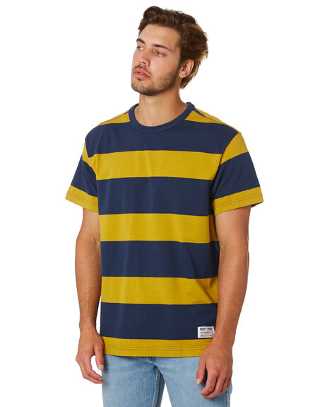 GOLD DRESS BLUE MENS CLOTHING LEVI'S TEES - 69855-0005GLDBL