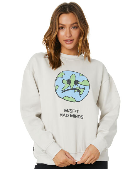 OFF WHITE WOMENS CLOTHING MISFIT JUMPERS - MT101201OFWHT