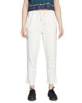 ANTIQUE WHITE WOMENS CLOTHING QUIKSILVER PANTS - EQWFB03001-WCL0