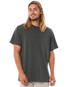 MERCH BLACK MENS CLOTHING THRILLS TEES - TH8-100MBMBLK