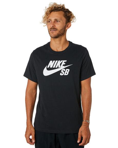 BLACK MENS CLOTHING NIKE TEES - AR4209010
