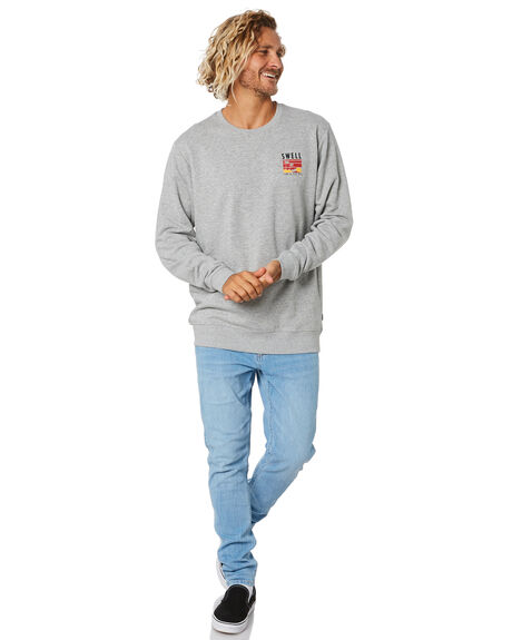GREY MARLE MENS CLOTHING SWELL JUMPERS - S5204440GRYMA
