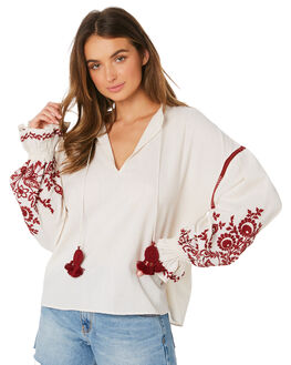 IVORY WOMENS CLOTHING TIGERLILY FASHION TOPS - T391031IVO