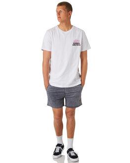 BLACK ACID MENS CLOTHING INSIGHT BOARDSHORTS - 5000002657BLKAC