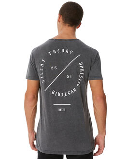 CHARCOAL MENS CLOTHING SILENT THEORY TEES - 4014004CHAR