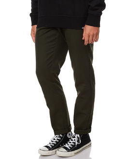 OLIVE GREEN MENS CLOTHING DICKIES PANTS - WE872OGRN