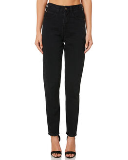 FADED BLACK WOMENS CLOTHING THE HIDDEN WAY JEANS - H8189196FADBK