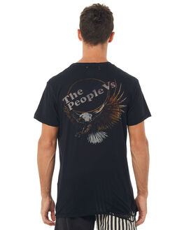 BLACK ACID MENS CLOTHING THE PEOPLE VS TEES - HS17067BACID