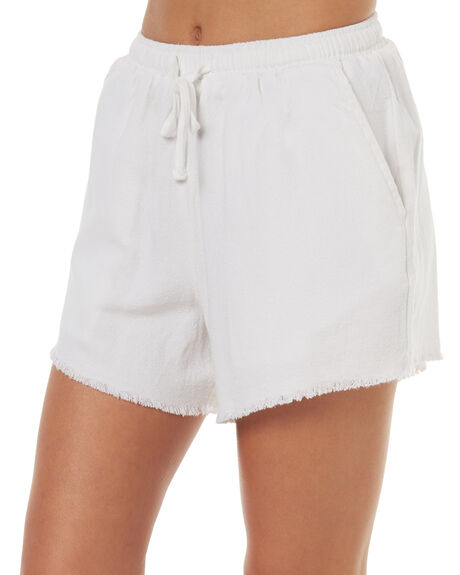 WHITE WOMENS CLOTHING SWELL SHORTS - S8171233WHT