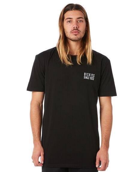 BLACK MENS CLOTHING DICKIES TEES - KU1180108BK