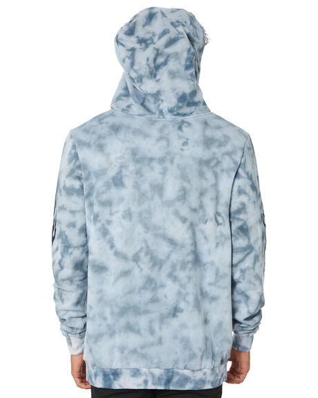 TIE DYE BLUE MENS CLOTHING THE PEOPLE VS JUMPERS - W19028TDBLU
