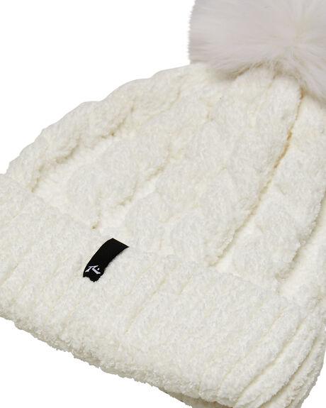 WHITE WOMENS ACCESSORIES RUSTY HEADWEAR - HBL0322WHT
