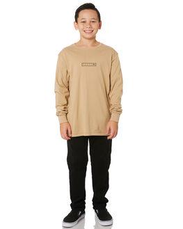 NATURAL KIDS BOYS RUSTY TOPS - TTB0617CNL