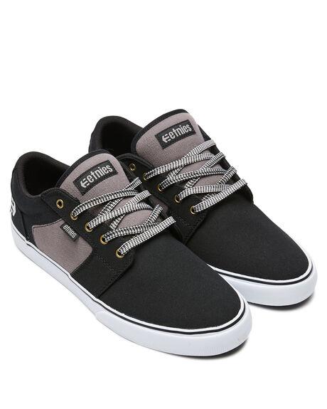 BLACK BROWN GREY MENS FOOTWEAR ETNIES SNEAKERS - 4101000526591