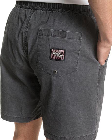 BLACK MENS CLOTHING QUIKSILVER SHORTS - EQYWS03610-KVJ0