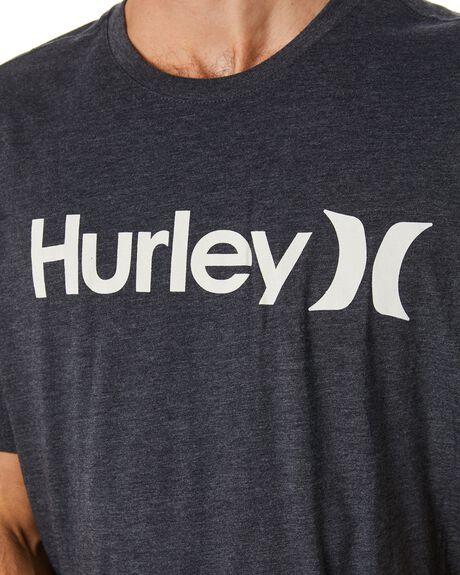 BLACK HEATHER MENS CLOTHING HURLEY TEES - AH7935033