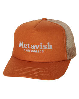 RUST MENS ACCESSORIES MCTAVISH HEADWEAR - MSP-19HW-02RUST