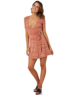 RUST WOMENS CLOTHING MINKPINK DRESSES - MP1802056RUS