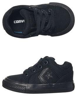 BLACK BLACK KIDS TODDLER BOYS CONVERSE FOOTWEAR - 759786BKBK