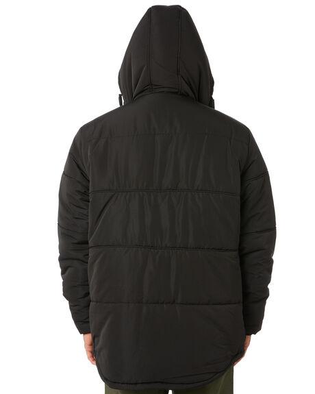 BLACK MENS CLOTHING GLOBE JACKETS - GB02037002BLK