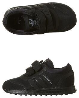 BLACK BLACK KIDS TODDLER BOYS ADIDAS ORIGINALS FOOTWEAR - BB0779BLK