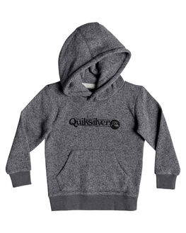 DARK GREY HEATHER KIDS BOYS QUIKSILVER JUMPERS + JACKETS - EQKFT03282-KRPH
